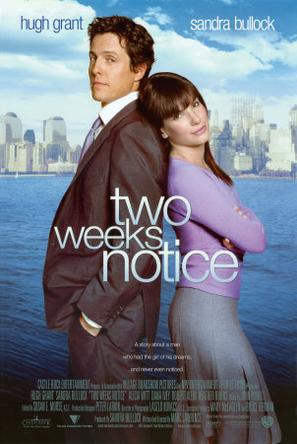 贴身情人 Two Weeks Notice