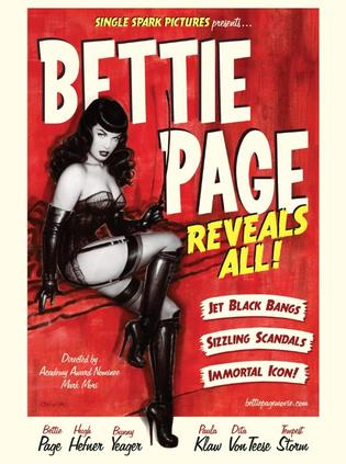 贝蒂佩吉的一切 Bettie Page Reveals All